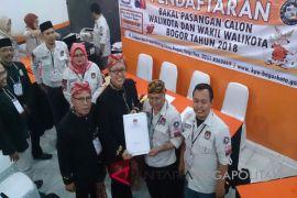 KPU Bogor Terima Pendaftar Paslon Pertama