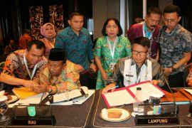 Pemprov Lampung Melakukan MoU Produk Unggulan Dengan 33 Provinsi