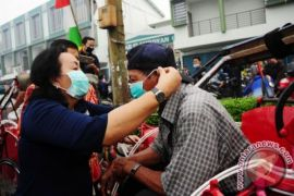 Dinkes kampanyekan penggunaan masker cegah penularan TBC