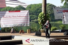 KPU Jabar-UI gelar rock the vote Indonesia