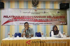 Masyarakat petani dan nelayan Cilacap dilatih berwirausaha