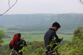 Himakova IPB lakukan ekspedisi eksplorasi fauna flora ke Geopark Ciletuh