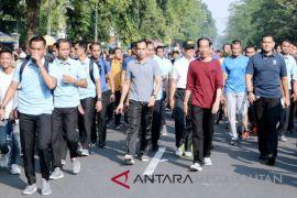 Presiden Jokowi kunjungi Mal Botani Square Bogor