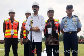 President Joko Widodo visit to Central Java (Video)