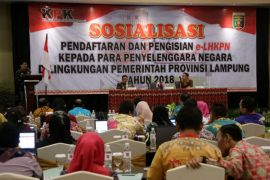 Pejabat Negara di Lampung Wajib Laporkan Kekayaan Ke KPK