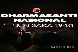 Presiden Jokowi Menghadiri Perayaan Hari Raya Nyepi (Video)