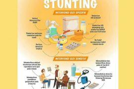 Ada 100 kabupaten menjadi prioritas penanganan Stunting