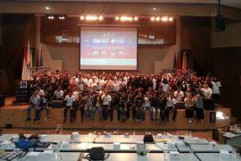 Tinggalkan budaya Golput, mahasiswa IPB ikuti electainment on campus-rock the vote Indonesia