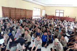 TAGANA Lampung Terima Kartu Peserta BPJS Ketenagakerjaan