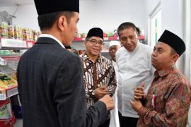 Kios Sinergi Alfamart-NU dikunjungi Presiden Jokowi