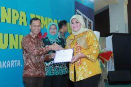 Pemkab Bekasi mendapatkan penghargaan Pastika Parahita