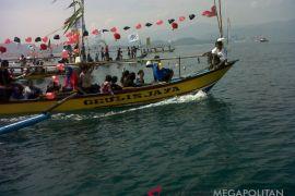 500 Kapal nelayan beropersional di Palabuhanratu Sukabumi
