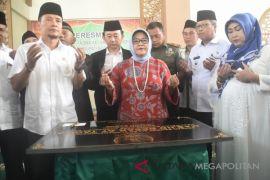Bupati Bogor meresmikan dua masjid besar