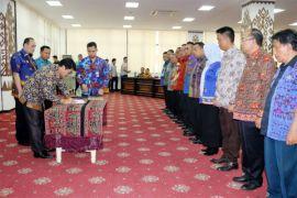 Sebanyak 34 Purnapraja IPDN Bergaung Ke Pemprov Lampung