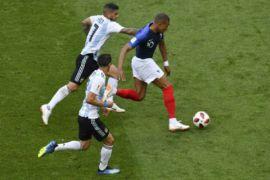 Kylian Mbappe cetak dua gol saat Prancis taklukkan Argentina