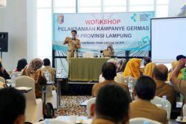 Pemprov Lampung Respons Cepat Pencegahan Campak dan Rubella
