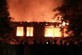 Penyebab kebakaran pabrik konveksi Bogor diselidiki