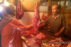 Harga daging sapi di Sukabumi berangsur turun