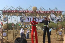 Festival permainan tradisional meriahkan Hari Jadi Bekasi