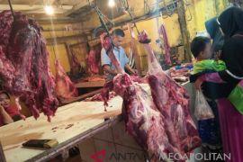 Harga daging sapi di Sukabumi merangkak naik
