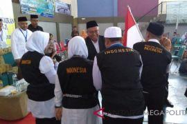 Rombongan terakhir JCH Sukabumi diberangkatkan