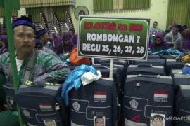 Ratusan calhaj Karawang dilepas dari Pemkab