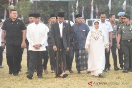 Bupati Bogor Nurhayanti Mendampingi Presiden Joko Widodo