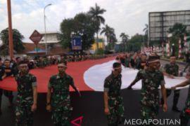 Kirab Festival Merah Putih Meriahkan Kota Bogor