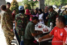 TNI-US Army gelar pengobatan gratis bagi warga Sentul
