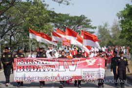 Masyarakat Cibatu gelar karnaval budaya