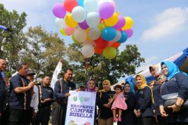 Ridho: Sukseskan Kampanye Imunisasi Campak Rubella Di Provinsi Lampung