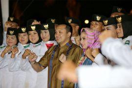 Gubernur Ridho Ficardo Merayakan Syukuran HUT KE-73 RI Bersama Masyarakat Lampung