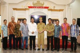Kemenkeu Terkesan Dengan Pembangunan Infrastruktur Yang Dilakukan Pemprov Lampung