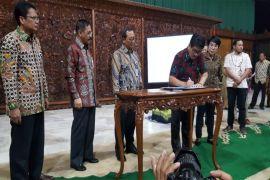 Perjanjian Pinjam Pakai Tanah Sekneg Untuk Anjungan Lampung Di TMII