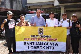 PKS Depok berangkatkan ekspedisi bantuan korban gempa Lombok