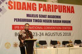 IPB tuan rumah Sidang Paripurna III Majelis Senat Akademik PTN-BH