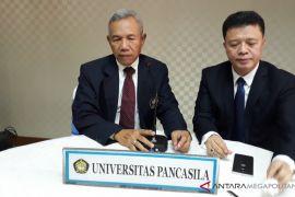 Universitas Pancasila Mendata Bangunan  Rusak Di Lombok