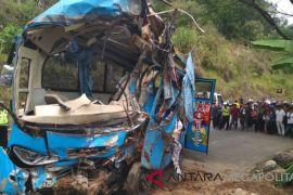 Bus sempat dua kali rusak sebelum kecelakaan