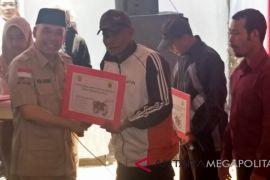 Dua Kementerian bantu sarana pertanian di Sukabumi