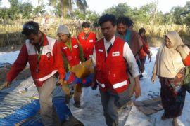 Pemakaman jenazah korban gempa dan tsunami Donggala dan Palu pada Senin