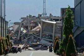 Sembilan polisi meninggal akibat gempa-tsunami di Palu