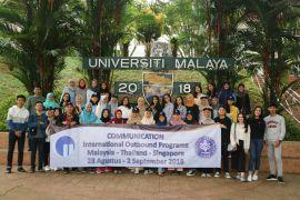 Progam Studi Komunikasi Sekolah Vokasi IPB menghadiri kuliah umum University of Malaya Kuala Lumpur