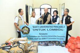 Bakti Universitas Pancasila untuk Lombok