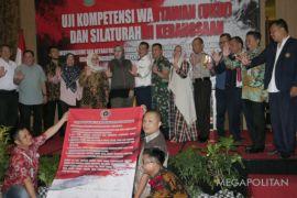 Puluhan wartawan Karawang deklarasi netralitas pada Pemilu