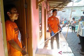 Polres Karawang rekonstruksi pembunuhan bocah SD