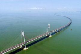Jembatan terpanjang di dunia diresmikan