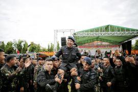 Ini Kemeriahan HUT Ke-73 Korps Brimob Polri 2018 Di Lampung