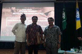 Kuliah Politik Pertanian di IPB