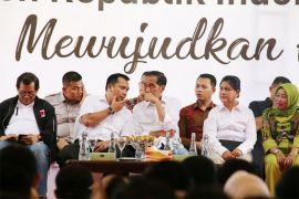 Presiden Jokowi Serap Aspirasi Petani Di Pringsewu Lampung