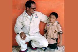 Adul bocah difabel Sukabumi ingin bertemu Jokowi